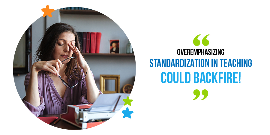 teachers and standardization in teaching