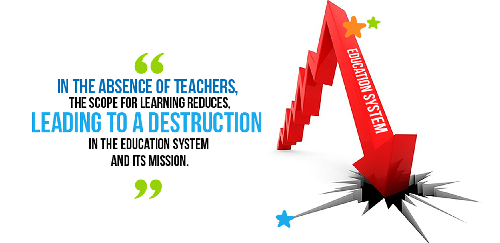 In the absence of effective teachers