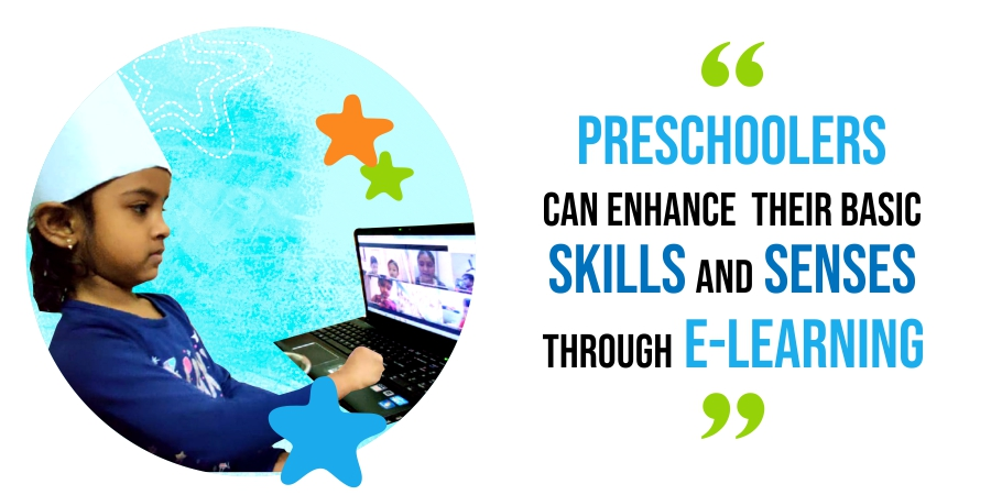 preschoolers and e-learning