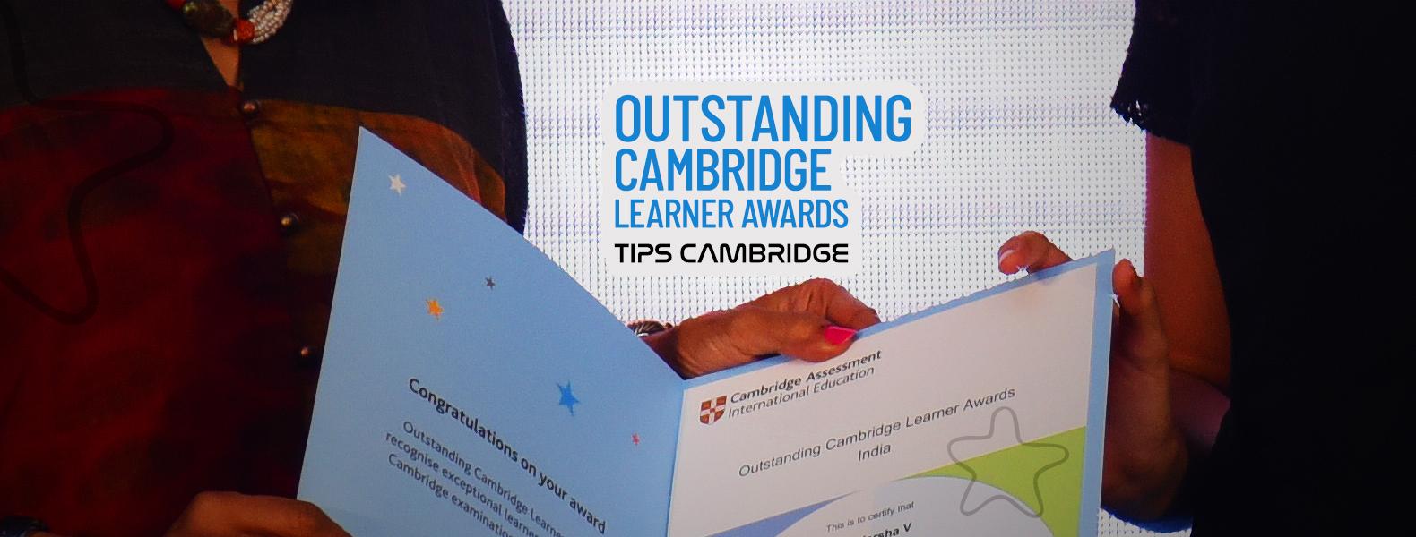 TIPS Cambridge - Outstanding Cambridge Learners Award