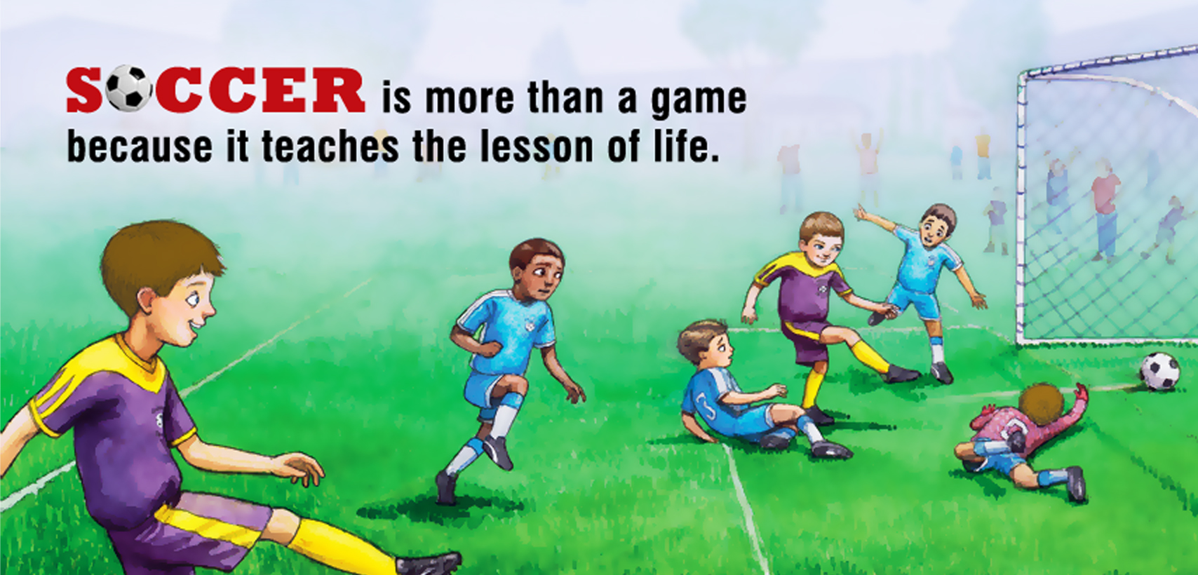 Soccer is more than a game