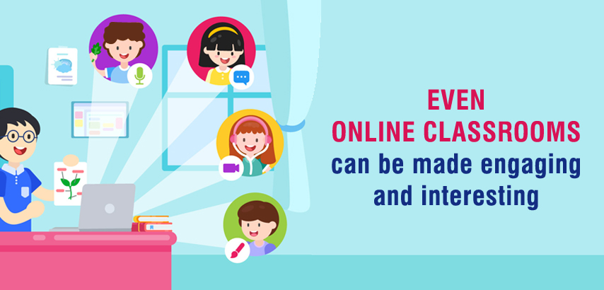 online classrooms can be engaging
