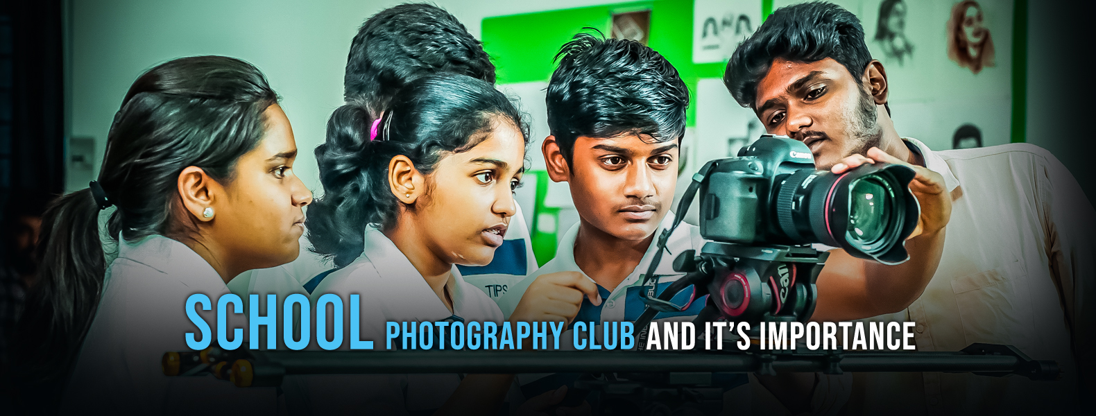 School Photography Club And It's Importance.